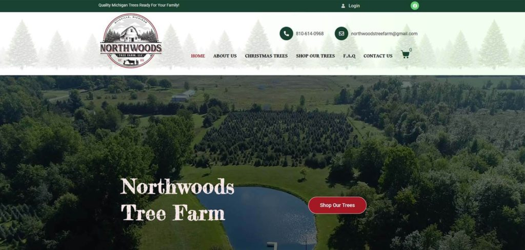 Websites for landscaping companies in Michigan