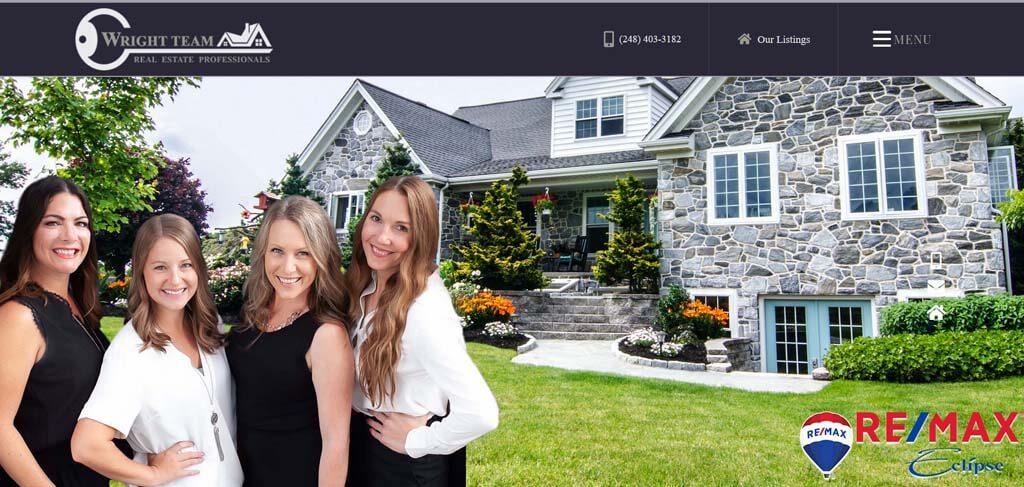 Real Estate Web Designers Near Me in Oakland County MI.